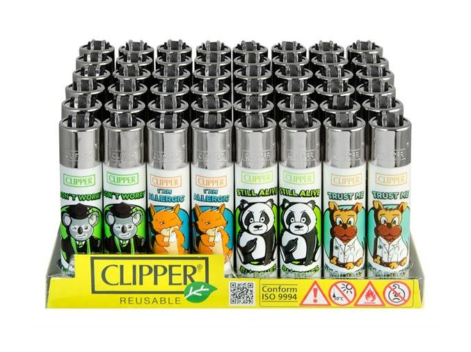 Zapalovač CLIPPER ® CP11RH Animal Sentences