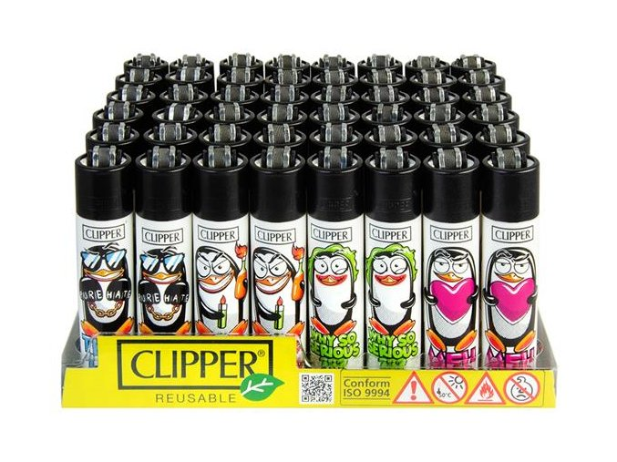 Zapalovač CLIPPER ® CP11RH Penguins
