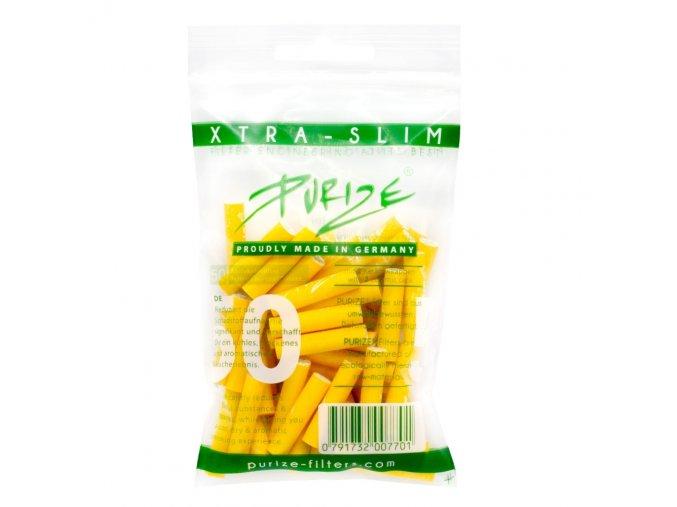 Uhlíkové filtry Purize Slim 50 Yellow