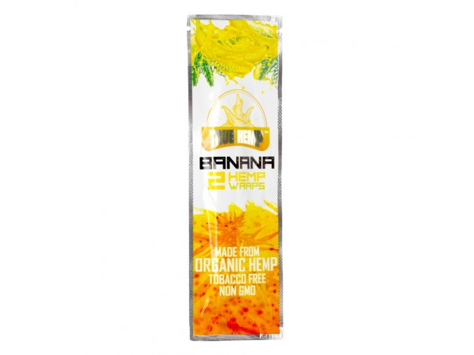Konopné blunty True Hemp USA Bannana 2pack