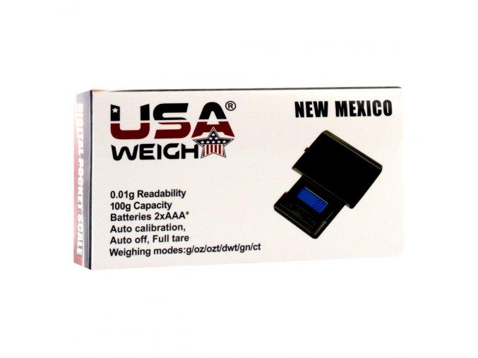 Digitální váha New Mexico Scale 0,01/100 g