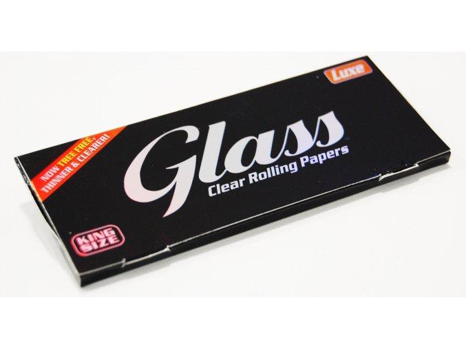 Transparentní papírky Glass