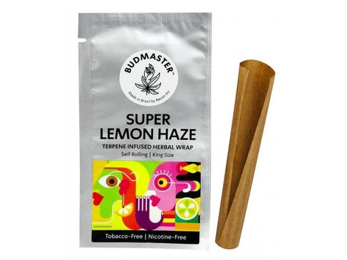 Konopný blunt BudMaster Terpene Wraps Super Lemon Haze