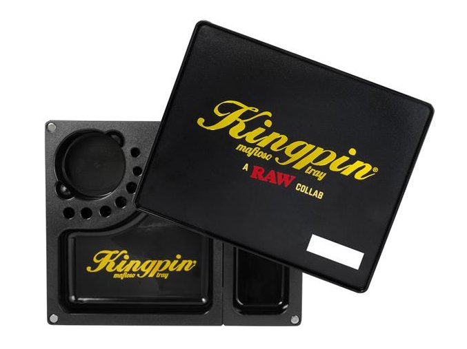Balící podložka Kingpin x Raw Papers Mafioso Tray