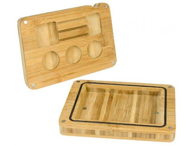 Bambusová balící podložka Back Flip Wooden Oil