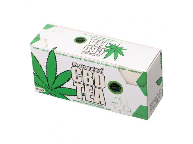 Konopný čaj Dr. GreenLove CBD Tea 20 šálků