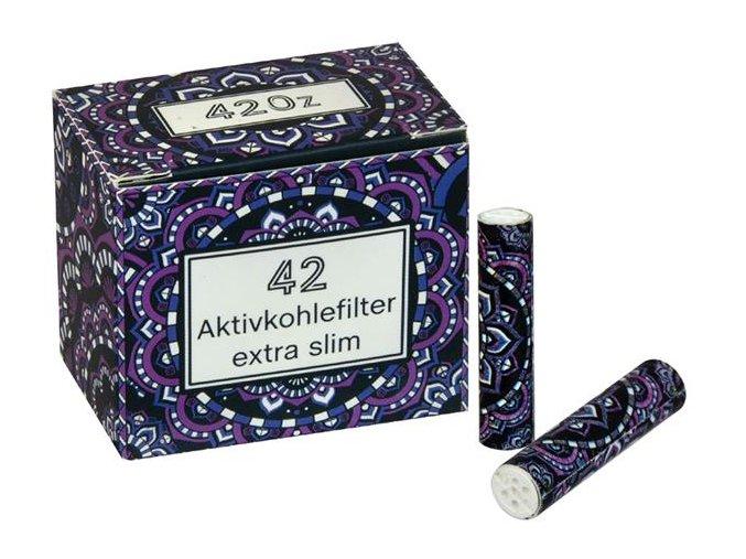 Uhlíkové filtry Original 420z Violet Extra Slim