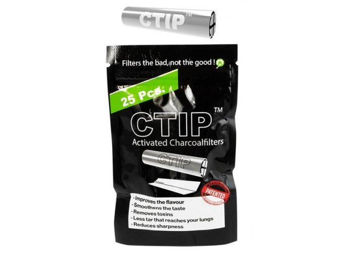Uhlíkové filtry CTIP Aluminium Charcoal Filter 6-7 mm