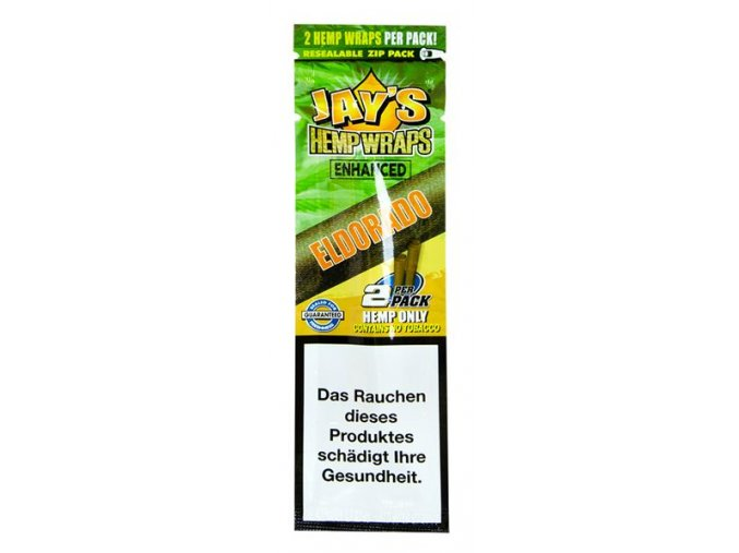 Konopné blunty Juicy Jay´s Terpene Wraps Eldorado 2Pack