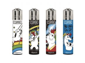 Zapalovač CLIPPER ® CP11RH Cool Unicorns