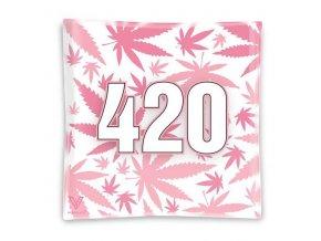 Skleněná balící podložka Syndicate 420 Pink Mini Tray