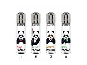 Zapalovač CLIPPER ® CP11RH Killer Panda
