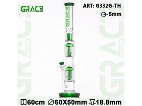 Skleněný bong Grace Glass 2x 10 Arm Haze Maze