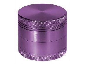 Kovová čtyřdílná drtička Purple