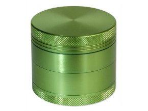 Kovová čtyřdílná drtička Green