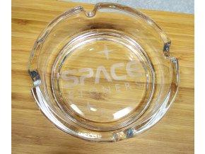 Skleněný popelník Space Stoners Logo
