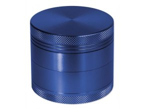 Kovová čtyřdílná drtička rotor modrá