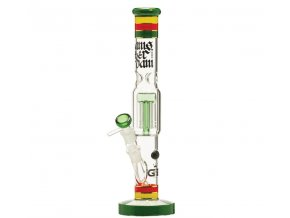 Skleněný bong Grace Glass HAMMER Series Funky Green Twist