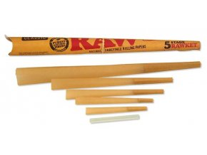 RAW Papers 5 Stage Rocket Cone Pack
