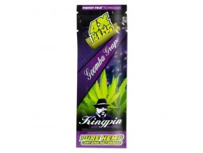 Konopné blunty Kingpin 4pack Hrozno