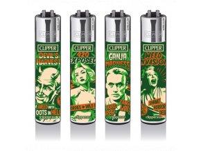 Zapalovač CLIPPER ® CP11RH Reefer Madness