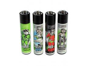 Zapalovač CLIPPER ® CP11RH Canna Heroes