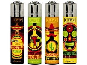 Zapalovač CLIPPER ® CP11RH Tequila Time