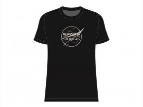 Space Stoners Logo Tee Black