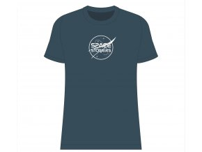 Space Stoners Logo Tee Petrol Blue