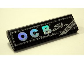 OCB Black Premium Long + filtry