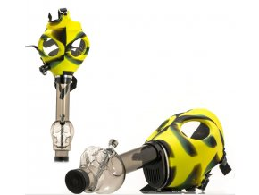 Plynová Maska s bongem Yellow Camo