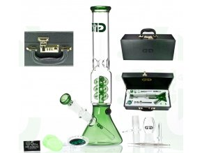 Skleněný bong Grace Glass OG The Sphere Box Green