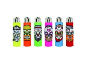 Zapalovač CLIPPER ® The Coolest Skulls