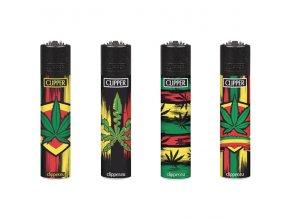 Zapalovač CLIPPER ® CP22RH Reggae Leaves