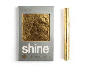 Zlaté papírky Shine 24k Promo Sheet Double 1/4