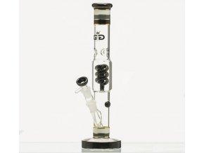 Skleněný bong Grace Glass HAMMER Series Black 24K Twist