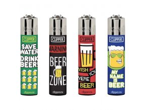 Zapalovač CLIPPER ® CP11RH Happy Beer