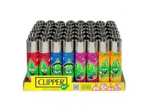 Zapalovač CLIPPER ® CP11RH Weed Man #2