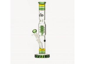 Skleněný bong Grace Glass HAMMER Series Funky Rasta Twist
