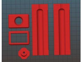 Plastový Cannagar Mold Kit Space Stoners V2