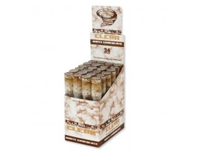 cyclones clear cone blunts white chocolate