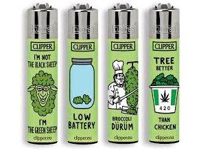Zapalovač CLIPPER ® CP11RH Think Green