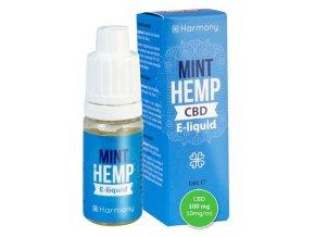 E-Liquid Harmony CBD 100 mg Mint Hemp