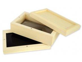 Třídílný dřevěný Sifterbox Magnet