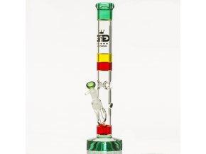 Skleněný bong Grace Glass HAMMER Series Rasta Cane