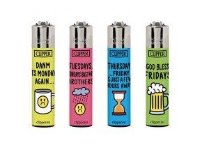 Zapalovač CLIPPER ® CP11RH Week Quotes