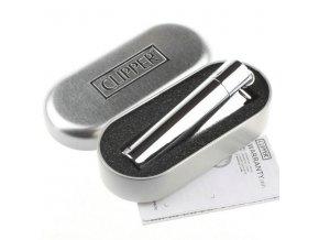 Kovový Zapalovač Clipper ® Stříbrný