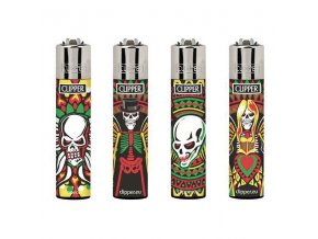 Zapalovač CLIPPER ® CP11RH Skull Angels