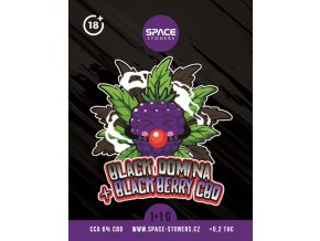 CBD Weed Space Stoners Black Domina Limited Pack CBD 6 % 5+5 G