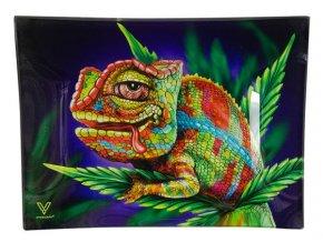 Skleněná balící podložka Syndicate Stoned Chameleon Medium